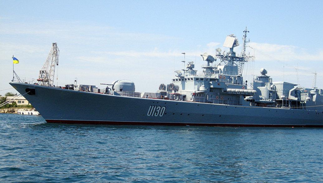 Украинский фрегат прибыл в Турцию за снаряжением для армии
