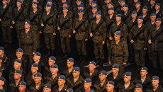 Репетиция парада Победы на Красной площади. Архивное фото