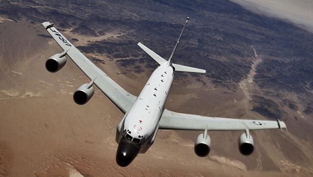 Американский самолет-разведчик RC-135U. Архивное фото