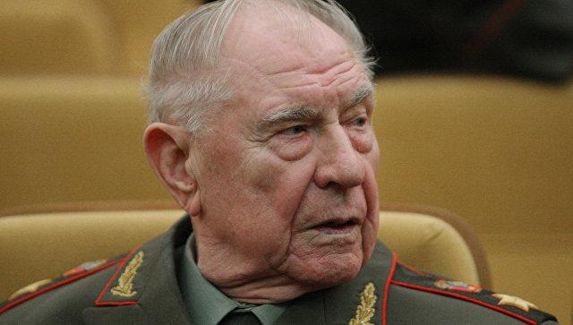 Экс-министр обороны СССР Дмитрий Язов. Архивное фото