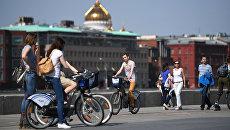 За три дня работы велопроката москвичи совершили более 46 тысяч поездок