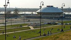 Казанский государственный цирк на площади Тысячелетия. Архивное фото