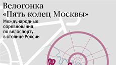 Велогонка Пять колец Москвы