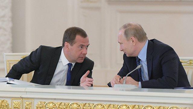 Опрос: работу В.Путина напосту президента позитивно оценил 81% граждан России
