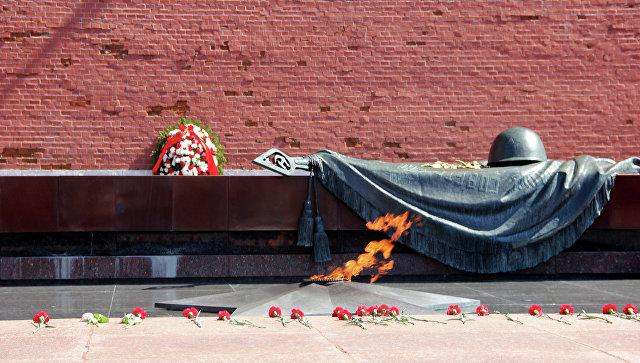 В столице России Вечный огонь перенесли наБМП