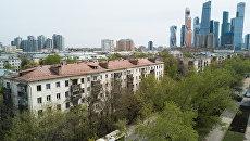 Пятиэтажные жилые дома в Москве. Архивное фото