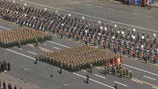 Пехота, танки, авиация - генеральная репетиция парада Победы в Москве