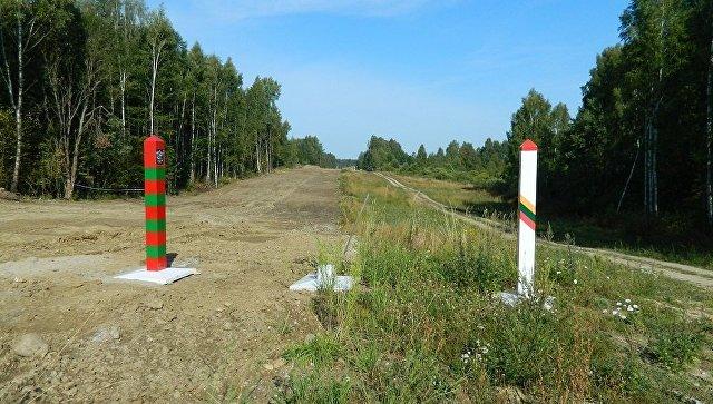 Граница России и Литвы. Архивное фото