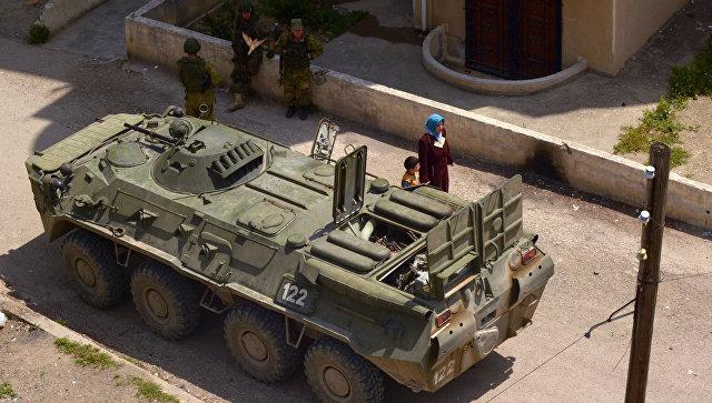 Коалиция подтвердила нанесение удара попроправительственным войскам вСирии
