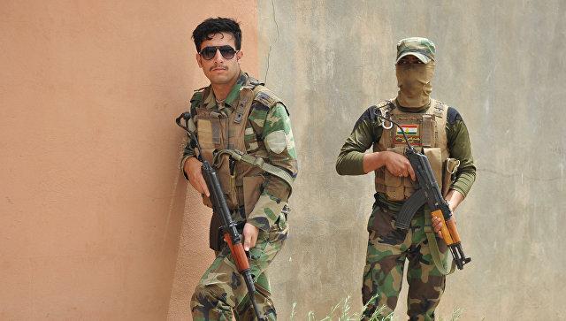 Военнослужащие курды. Архивное фото