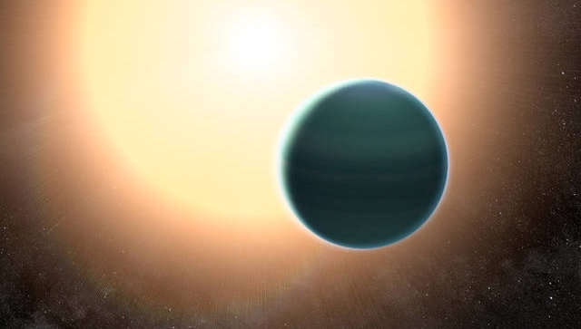 Астрономы отыскали атмосферу иводу наэкзопланете