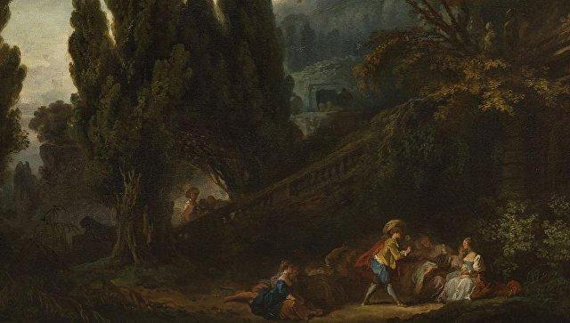 ВоФранции обнаружили картины Фрагонара нашесть млн.  евро
