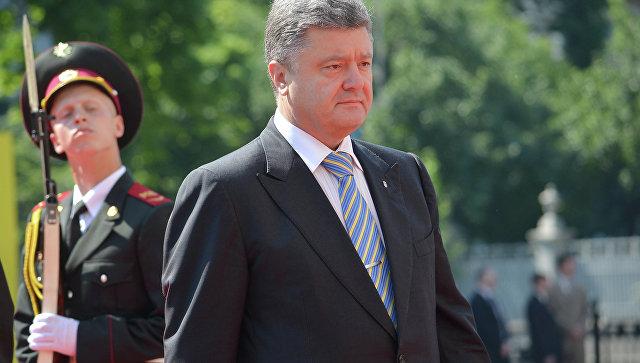 Порошенко ответил навопрос освоем участии вследующих выборах