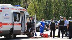Автомобиль скорой помощи в Казахстане. Архивное фото