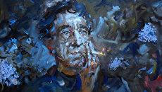 Работа Михаила Копьева Портрет Игоря Северянина