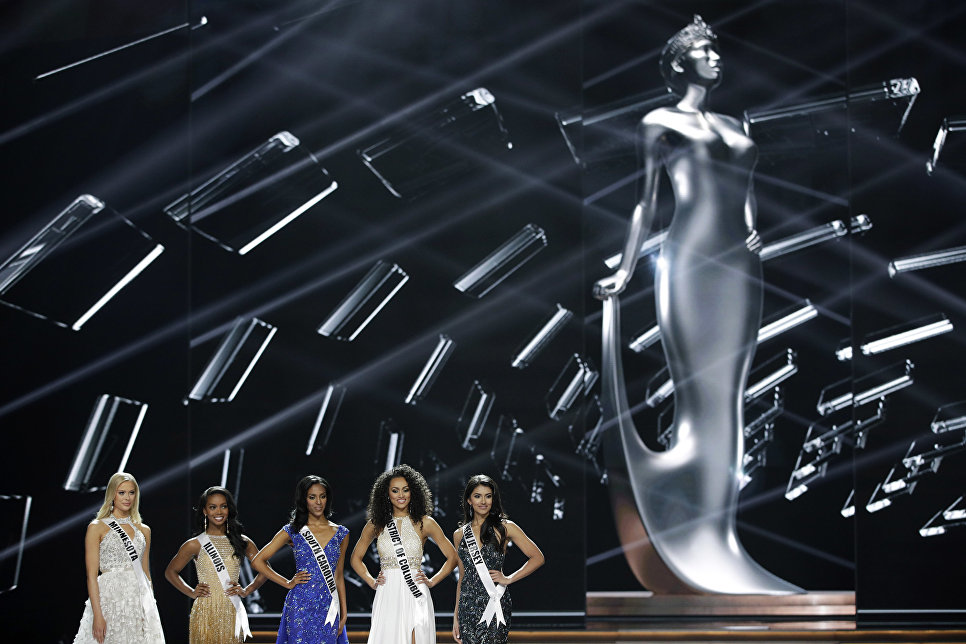 Участницы конкурса Мисс США в Лас-Вегасе