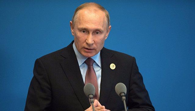 Владимир Путин: искусственно регулировать курс рубля нельзя