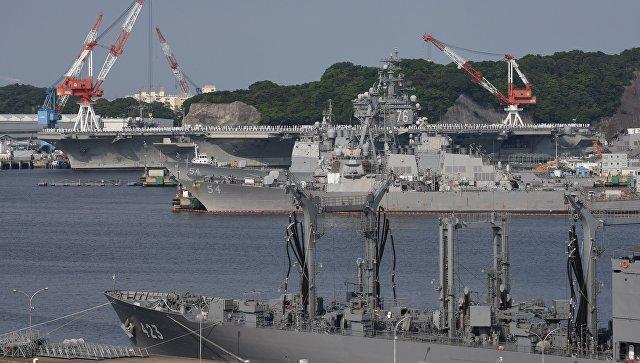 США направили кКорейскому полуострову еще одну ударную группу