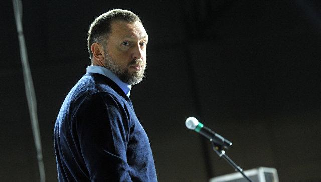 Бизнесмен Олег Дерипаска. Архивное фото