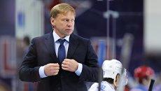 Главный тренер хоккейного клуба Барыс Евгений Корешков. Архивное фото