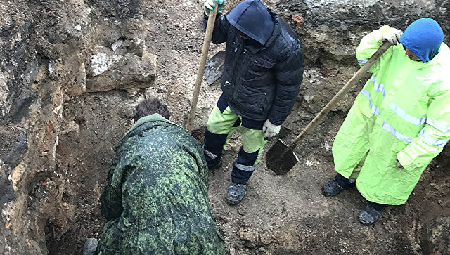 Столичные археологи