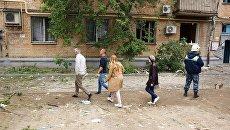 Ликвидация последствий взрыва газа в Волгограде. 17 мая 2017
