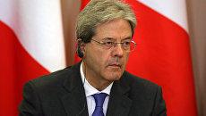 Председатель Совета министров Италии Паоло Джентилони. Архивное фото