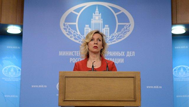 Все сведения о кончине Виталия Чуркина переданы его семье, заявила Захарова