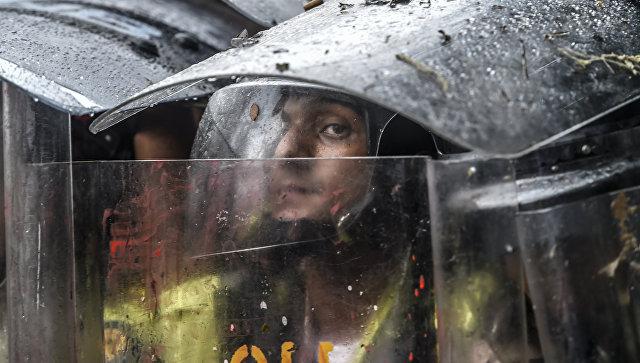 ВСабанете сожгли родной дом экс-президента  Венесуэлы Уго Чавеса