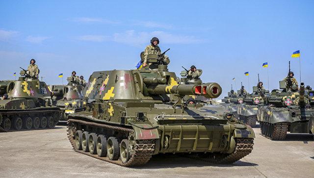 Украинские танки Т-80. Архивное фото
