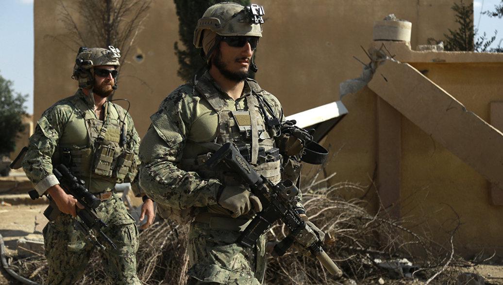 Пентагон: наземные войска США не участвуют в боевых действиях в Сирии