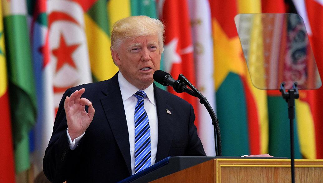 Image result for выступление трампа в эр рияде