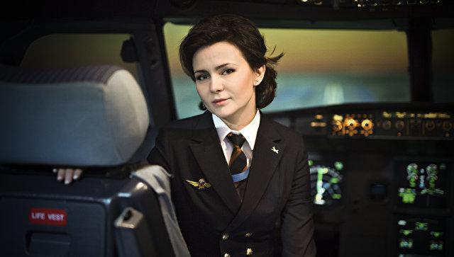 Женщины редких профессий. Мария Уваровская. Командир воздушного судна