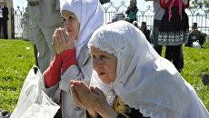 Торжества по случаю 1128-й годовщины принятия ислама Волжской Булгарией в древнем городе Болгар (Татарстан) - праздник Изге Болгар җыены