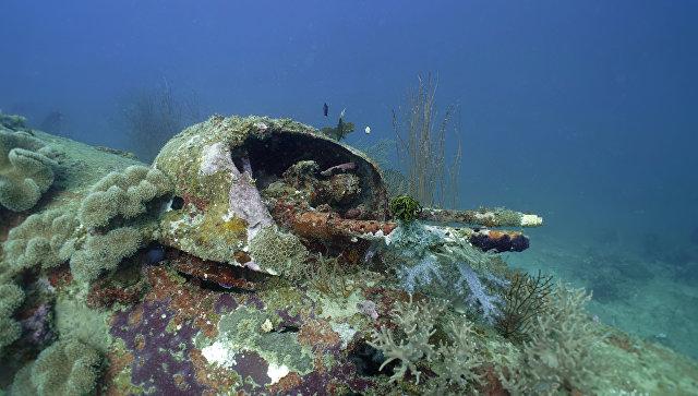 Ученые нашли у берегов Новой Гвинеи самолеты времен второй мировой