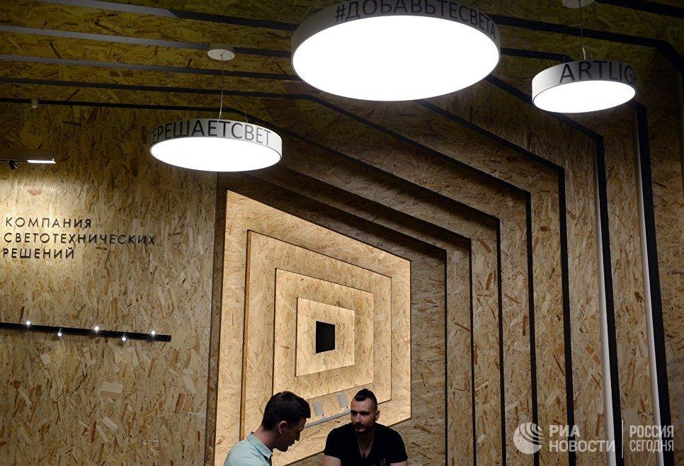 Компания светотехнических решений на 22-й Международной выставке архитектуры и дизайна АРХ Москва NEXT! в Центральном доме художника в Москве