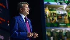 Герман Греф выступает на годовом общем собрании акционеров Сбербанка. 26 мая 2017