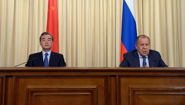 Лавров: Россия и Китай выступают за меры, которые препятствовали бы ядерной программе КНДР