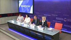 Пресс-конференция, посвященная началу основного периода ЕГЭ