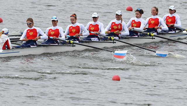 Четверка гребцов из РФ выиграла чемпионат Европы влёгком весе