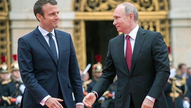 """Мнение: Франция попытается стать """"мостом"""" между Россией и Западом"""