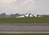 Революционный британский истребитель Sea Vixen сел на брюхо после авиашоу