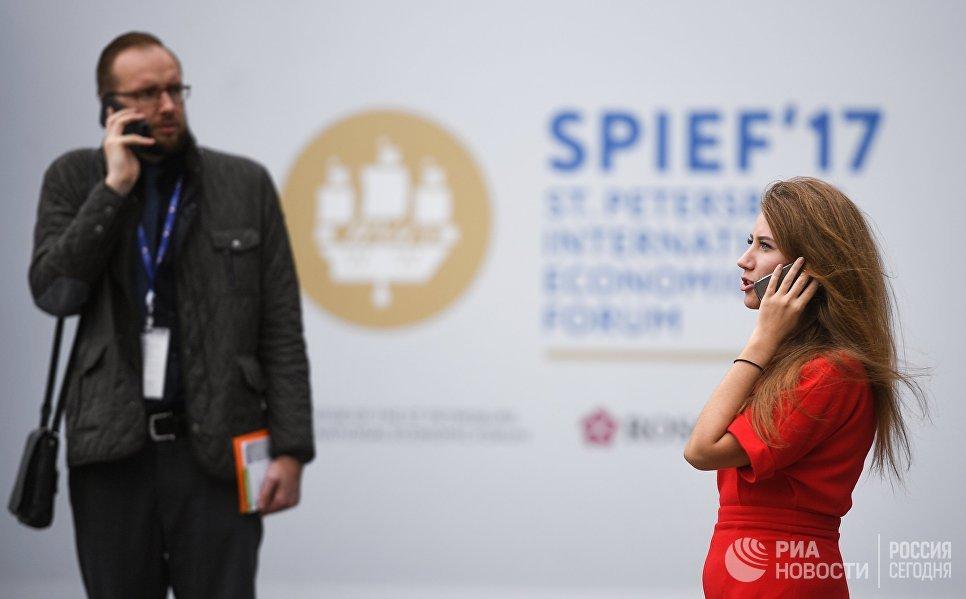 В Экспофоруме накануне открытия Санкт-Петербургского международного экономического форума 2017