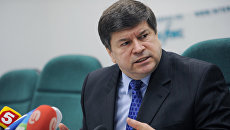 Посол Молдавии в РФ Андрей Негуца. Архивное фото