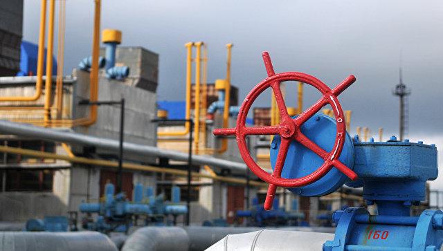 Вентиль на объекте высокогорной газокомпрессорной станции Воловец в Закарпатской области. Архивное фото