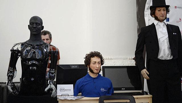 Гостей фестиваля актуальной для нашего времени литературы в российской столице встретит робот Пушкин