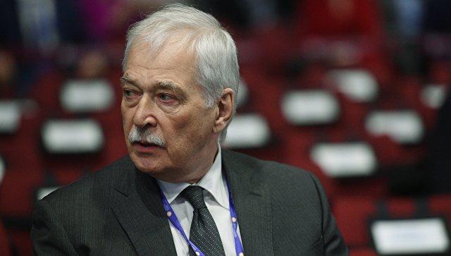 Председатель Высшего совета партии Единая Россия Борис Грызлов перед началом пленарного заседания Санкт-Петербургского международного экономического форума 2017