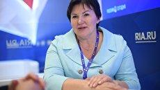 Заместитель главы администрации Липецкой области Людмила Летникова на Санкт-Петербургском международном экономическом форуме 2017