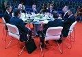 """Участники бизнес-диалога """"Россия — Швеция: инвестиции и инновации как основные точки взаимного роста"""" на Петербургском международном экономическом форуме 2017"""