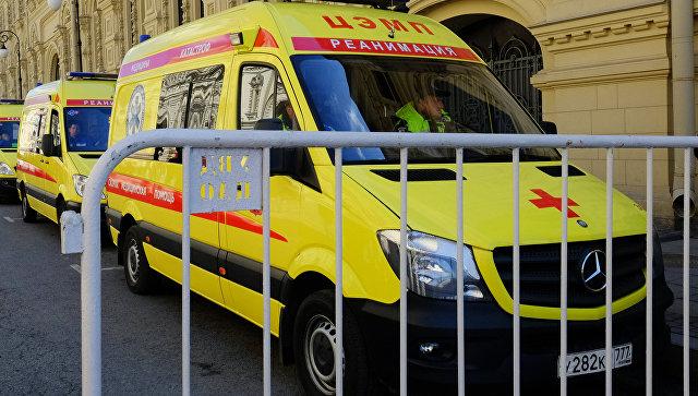 ЧПвПодмосковье: неменее 15 детей доставлены вбольницу спищевым отравлением излагеря
